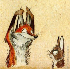 volpe e lepre